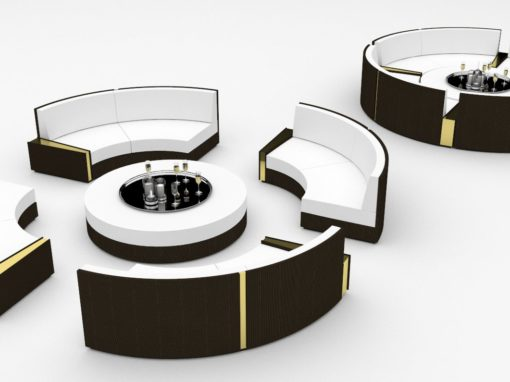 Luxury Day Bed & Coffee Table Design Proposals