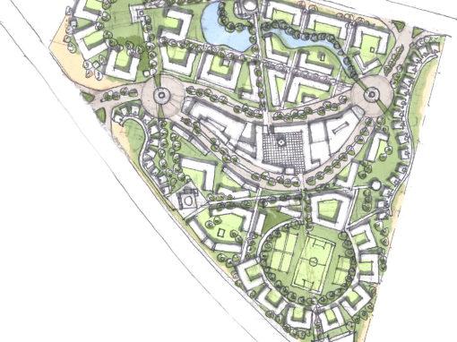 Staff Accommodation Village Masterplan